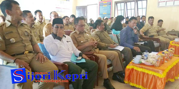 "Musrenbang Kecamatan Singkep Pesisir ""BUPATI BERI ARAHAN"" 1"