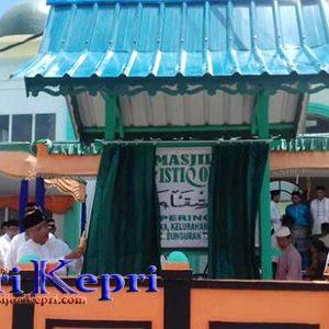 """Masjid Al Istiqomah, Pering, Kelurahan Bandarsyah """"DIRESMIKAN"""" 10"""