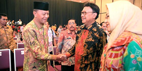 """Syahrul Hadiri """"RAKERNIS APEKSI di JAKARTA"""" 1"""