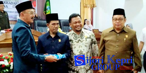 """Hamid Rizal Sampaikan Mimpinya """"DI PARIPURNA DPRD NATUNA"""" 1"""