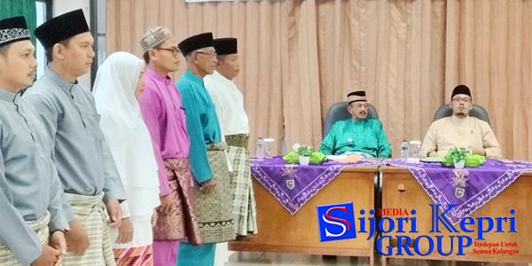 "Bambang Maryono Lantik ""PENGURUS MUI NATUNA"" 1"