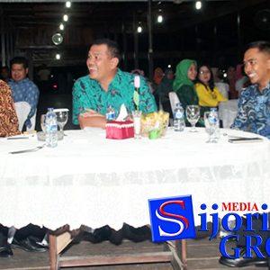 Sekda Natuna Wan Siswandi, bersama Pangkosekhanudnas I, Marsekal Pertama TNI, S Chandra Siahaan S.IP M.Tr (Han) dan Tamu Undangan