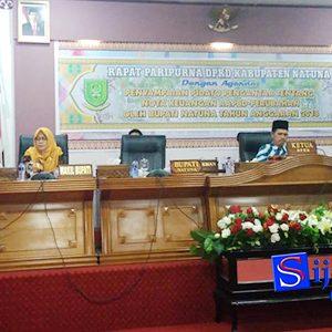 Pidato Bupati Natuna, Drs H Abdul Hamid Rizal M.Si
