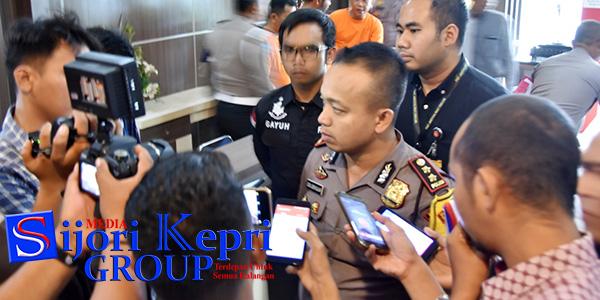 """Polres Tanjungpinang Amankan Dua Tersangka """"PENCURI SEPEDA MOTOR"""" 1"""