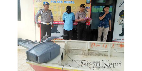 """Penadah Pencurian Mesin Speed Boat """"DITANGKAP"""" 1"""