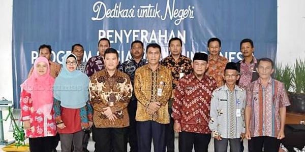 """Sekda Natuna Hadiri Penyerahan """"PROGRAM BANTUAN SOSIAL"""" Bank Indonesia 1"""