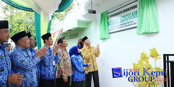 """Walikota Syahrul """"RESMIKAN RUMAH SINGGAH"""" di Batam 1"""