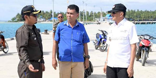 Kunker Ke Pulau Midai, Sekda Natuna Hadiri Peringatan HPSN 2019 1