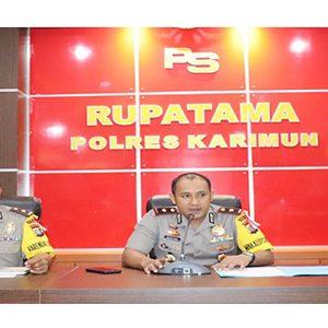 Wakapolres Karimun Pimpin Rapat Koordinasi Satgas Bansos 6