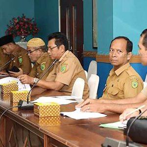 Para peserta pertemuan dengan Kepala Cabang BPJS Kesehatan Tanjungpinang beserta rombongan
