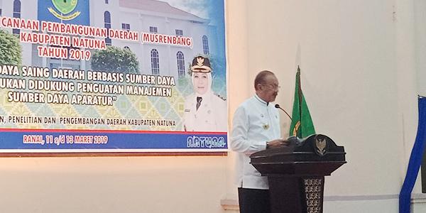 Ketua DPRD Natuna Apresiasi Kinerja Bupati dan Jajarannya 2