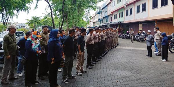 Bawaslu Tanjungpinang Tertibkan 1.500 APK 1