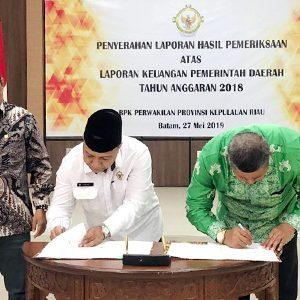 Raih WTP, Pimpinan Dewan Apresiasi Pemkab Anambas 9