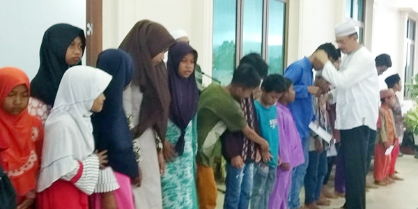 Hamid Rizal Buka Puasa Bersama Anak Yatim Piatu