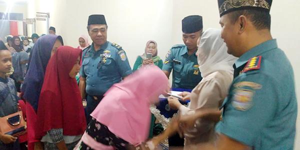 Lanal Ranai Ajak Anak Yatim Piatu Joy Sailing