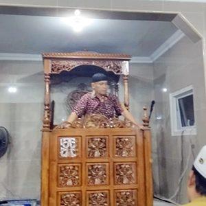 Danlanud Raden Sadjad (RSa) Ranai, Kolonel Pnb Fairlyanto, menyampaikan kata sambutan