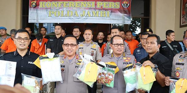Pejabat Pemprov Kepri Ditangkap di Jambi 1