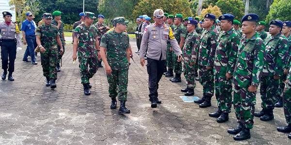 Kapolres Natuna Pimpin Apel Pasukan Operasi Ketupat 2019 1