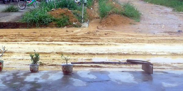 Masyarakat Resah, Banjir Lumpur Kiriman Melanda Teluk Sebung 2