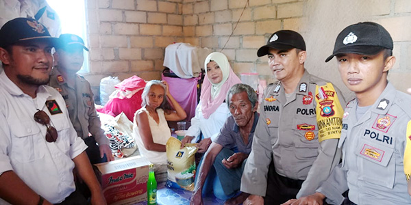Lagi, Polres Bintan dan Hi-Malaya Santuni Warga Kurang Mampu 1