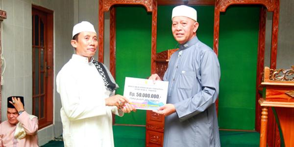 Masjid Al Marhamah Terima Bantuan Rp 50 Juta dari Pemko Tanjungpinang