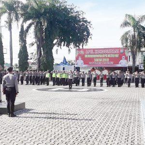 Kapolres Karimun dan Dandim 0317 Tbk Pimpin Apel Konsolidasi Operasi Ketupat Seligi 2019 5