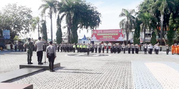 Kapolres Karimun dan Dandim 0317 Tbk Pimpin Apel Konsolidasi Operasi Ketupat Seligi 2019 1