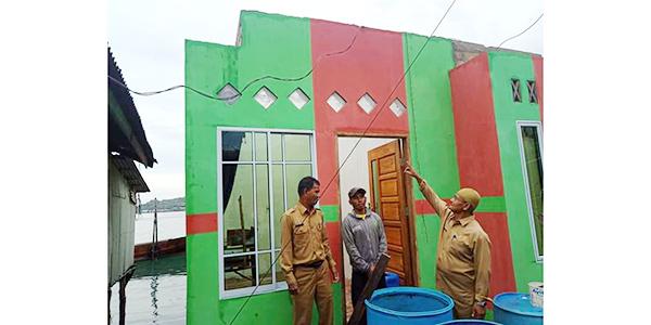 Puting Beliung Serang 4 Rumah di Bintan