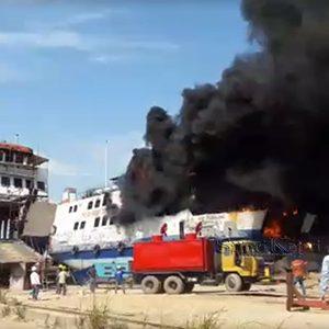 Video Kapal Roro Meledak, Tiga Tewas dan 9 Cidera 4