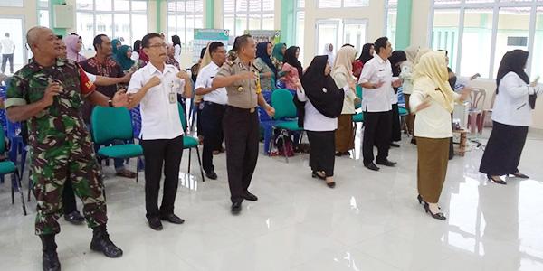 Lokakarya Mini UPT Puskesmas Kecamatan Meral Barat