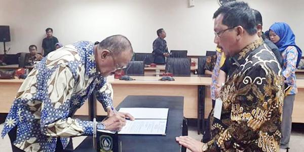 Bupati Natuna Hadiri Acara Penempatan Tugas Lulusan IPDN Ke XXV 2