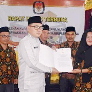 KPU Lingga Tetapkan 20 Calon Terpilih Anggota DPRD Lingga 3