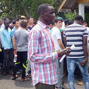 Para Imigran mendatangi Kantor IOM Tanjungpinang