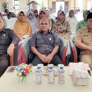 Asisten II Ekonomi dan Pembangunan Kabupaten Natuna, H Tasrif Amran bersama Anggota DPRD Natuna Eryandi dan Wan Arismunandar