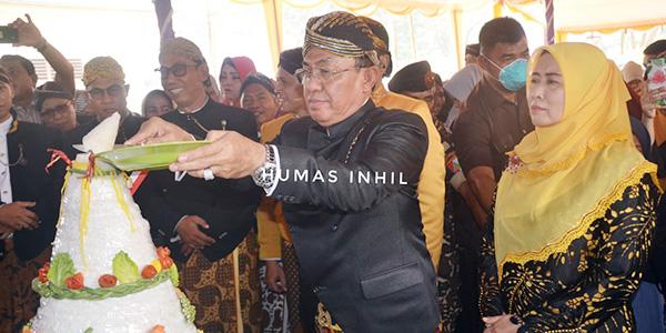 HM Wardan Hadiri Grebek Suro Kecamatan Kempas