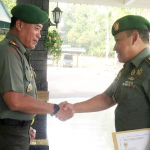 Dandim 0315/Bintan Pimpin Upacara Korp Raport Kasdim 0315/Bintan 6