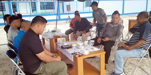 Danlanud RSa Ranai Coffee Morning Bersama Para Wartawan