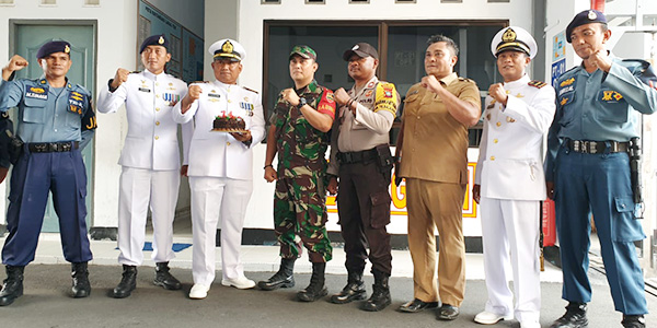HUT Ke 74 TNI AL, Lanal TBK Dapat Kejutan 1