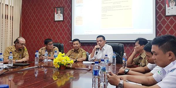 Polres Tanjungpinang dan Instansi Terkait Gelar Rapat Pembuatan Posko Penanggulangan Kabut Asap