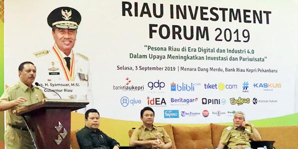 Riau Expo, Sekda Inhil Promosikan Potensi Daerah