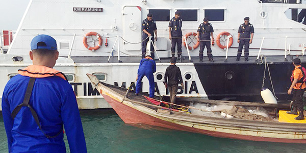 Dinyatakan Hilang, Rahman Akhirnya Ditemukan di Perairan Johor Malaysia 1