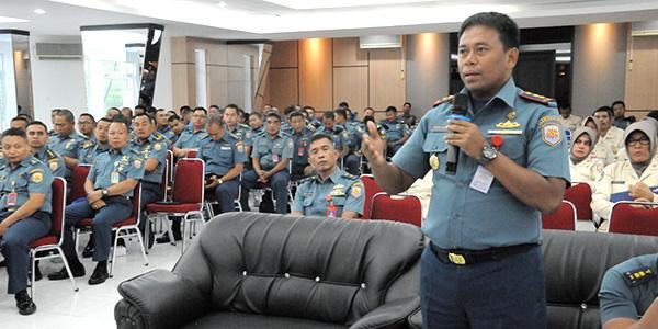 Peserta Penyuluhan Antusias Ikuti Bimtek Penempatan Jabatan Prajurit TNI AL 1