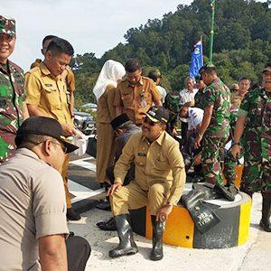HUT TNI ke 74, Bupati Karimun Ikut Tanam Bibit Mangrove 6