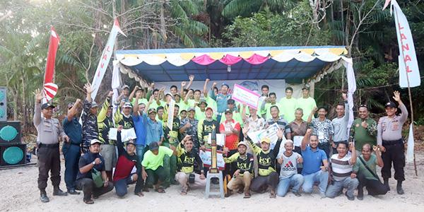 HUT ke 27, Lanal Dabo Singkep Gelar Lomba Lingga Fun Fishing 1