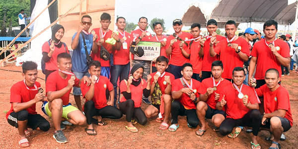 Tim Dayung Lantamal IV Juara Internasional Dragon Boat Race 2019 1