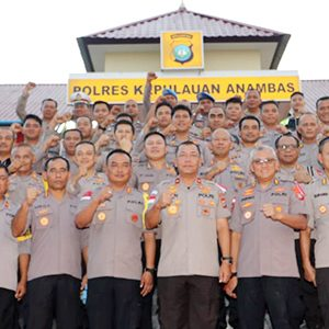 Kunjungi Anambas, Wakapolda Ingatkan Personil Polres Anambas 4