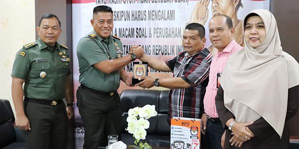 Kodim 0315/Bintan Siap Sukseskan Pilkada Serentak Tahun 2020 1