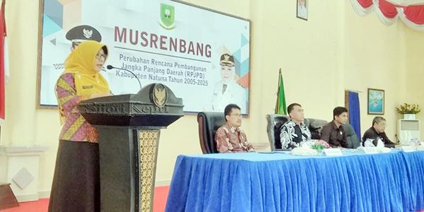 Sekda Natuna Buka Musrenbang Perubahan RPJPD 2005 - 2025 3