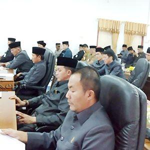 Peserta Rapat Paripurna Revisi Peraturan Daerah RPJPD Kabupaten Natuna Tahun 2005 – 2025