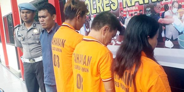Dua Penjual Sie Jie Ditangkap, Bandarnya DPO
